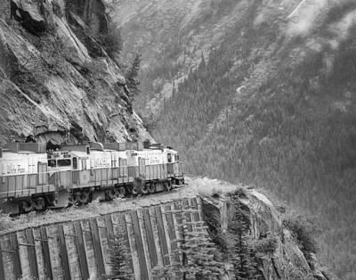 White Pass And Yukon Railroad Print by Vicki Jauron