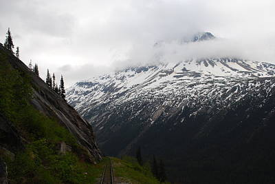 Photograph - White Pass Railroad View by Robert  Moss