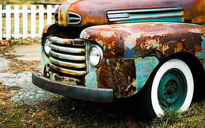 White Picket Dreams II Print by Off The Beaten Path Photography - Andrew Alexander