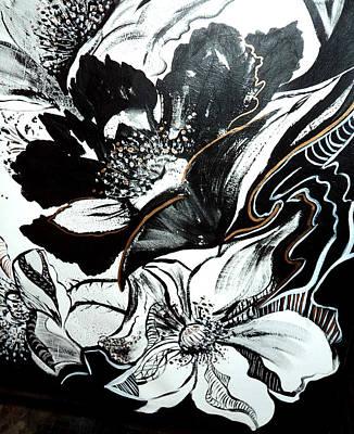 Painting - White Poppy by Patricia Rachidi