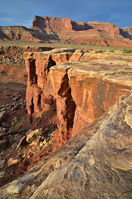 Photograph - White Rim by Ray Mathis
