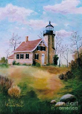 Painting - White River Light by Brenda Thour