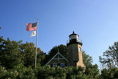 Photograph - White River Lighthouse by George Jones