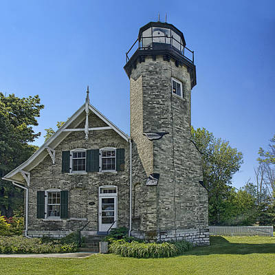 Photograph - White River Lighthouse by Randall Nyhof