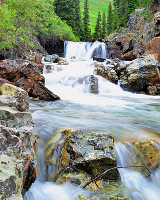 Mike Schmidt Photograph - White River by Mike Schmidt