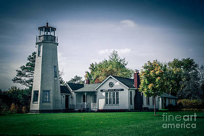 Photograph - White Rock Light by Grace Grogan