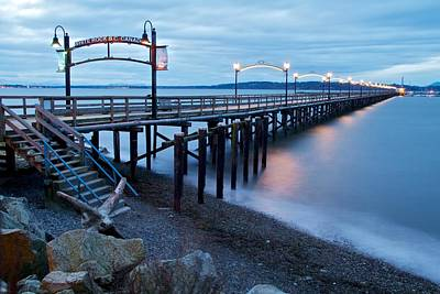 Photograph - White Rock Pier by Scott Holmes