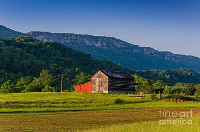 Photograph - White Rocks Farm by Anthony Heflin