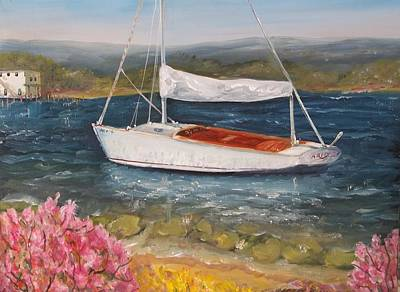 Painting - White Sails by Robert Harrington