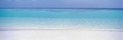 White Sand Beach Art Print by Panoramic Images