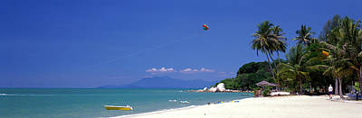 White Sand Beach Penang Malaysia Print by Panoramic Images