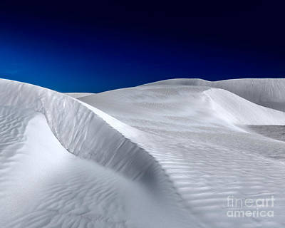 Photograph - White Sand Dunes by Julian Cook