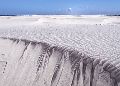 Photograph - White Sand by Frits Selier