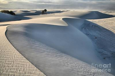 Photograph - White Sands Afternoon Wind Storm by Adam Jewell