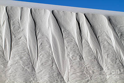 Photograph - White Sands Bas Relief Sculpture by Martha Marks