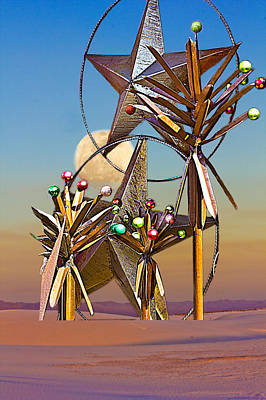 Digital Art - White Sands Christmas by Georgianne Giese