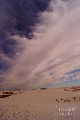 Photograph - White Sands Clouds by Kerri Mortenson
