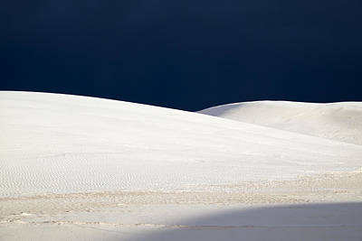 White Sands Dark Sky Art Print