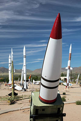 Ballistic Photograph - White Sands Missile Range Museum by Jim West