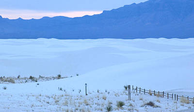 Art Print featuring the photograph White Sands New Mexico by Bob Pardue