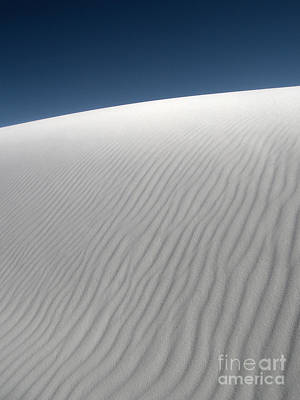 Photograph - White Sands New Mexico Dune Abstraction by Gregory Dyer