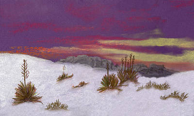 Painting - White Sands New Mexico by J Cheyenne Howell
