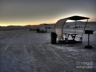 Photograph - White Sands New Mexico Sunset Twilight 02 by Gregory Dyer