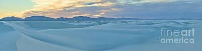 Photograph - White Sands Panorama by Adam Jewell