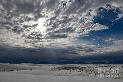 Keith Richards - White Sands Skies by David Arment