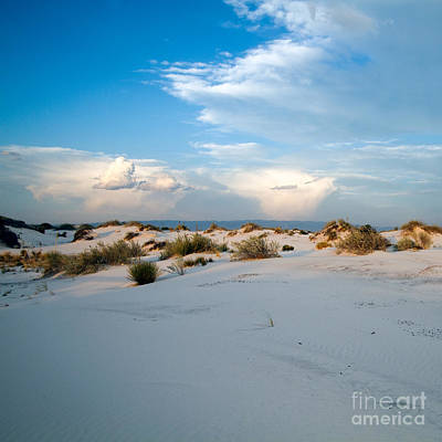 Photograph - White Sands Sunset by Martha Marks