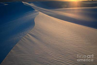 Photograph - White Sands Sunset Sandstorm by Adam Jewell