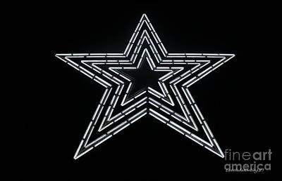 White Star Art Print