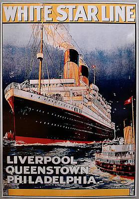 White Star Line Poster 1 Art Print