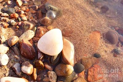 Photograph - White Stone by Kerri Mortenson