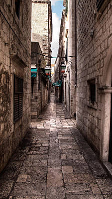Photograph - White Streets Of Dubrovnik No5 by Weston Westmoreland