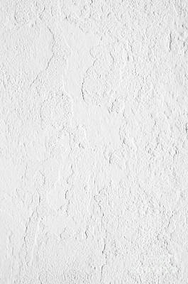 Creme Photograph - White Stucco by Carlos Caetano