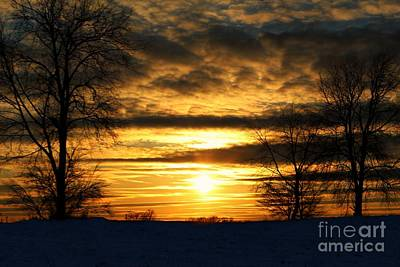 Photograph - White Sunset by Scott B Bennett