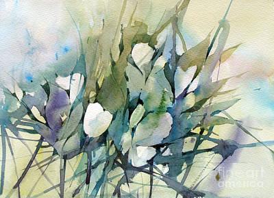 Painting - White Tulips by Natalia Eremeyeva Duarte