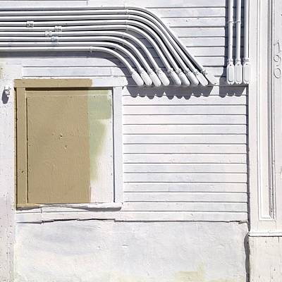 White Photograph - White Wall by Julie Gebhardt