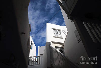 Photograph - White Washed In Mykonos by John Rizzuto