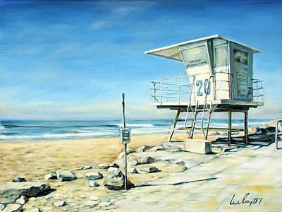 Huntington Beach Painting - White Watch by Ivailo Boliarov