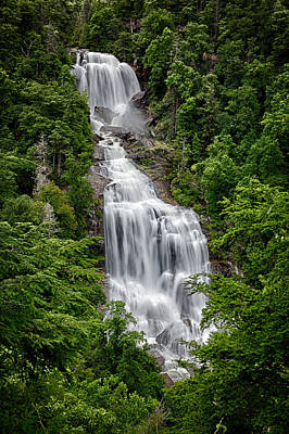 Photograph - White Water Falls by John Haldane
