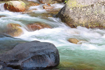 Green Movement Photograph - White Water by Heidi Smith