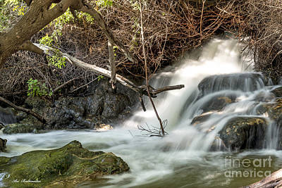 Rowing Royalty Free Images - White Water Waterfalls 08 Royalty-Free Image by Arik Baltinester