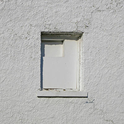 Photograph - White Window 1 by The Art of Marsha Charlebois