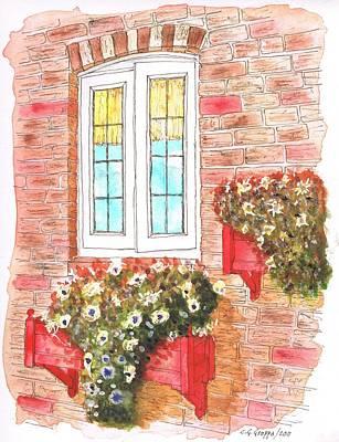 White Window Art Print