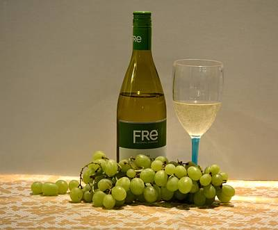 Photograph - White Wine Still Life 1 by Richard Bryce and Family