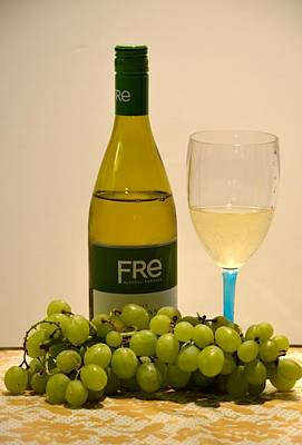 Photograph - White Wine Still Life 2 by Richard Bryce and Family