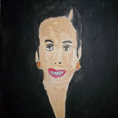 Etc. Painting - White Woman In The 50's by William Sahir House