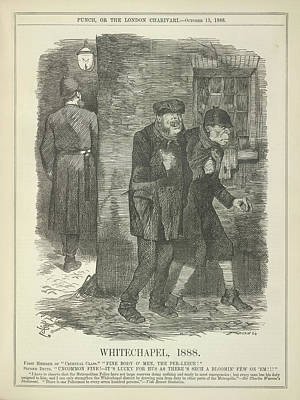 Whitechapel 1888 Art Print